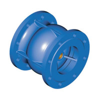 Клапан обратный фланцевый Tecofi CA3241-0050 пружинный, осевой ДУ50