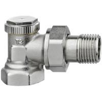 Клапан радиаторный запорный IMI Heimeier Regutec F 0331-02.000 угловой ДУ15 1/2
