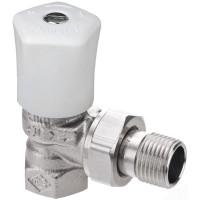 Ручной регулирующий клапан Heimeier Mikrotherm 0121-01.500 ДУ10 3/8 угловой