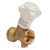 Клапан балансировочный ручной R206B-1 R206BY114 Giacomini ДУ20 BP 3/4, латунь