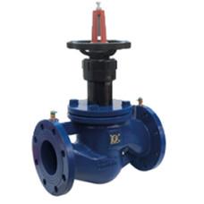 Клапан балансировочный ручной Giacomini R206B R206BY210 ДУ100, фланцевый, чугун, Ру16