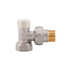 """Запорный отсечной клапан угловой, тип 296, Itap 3960034 3/4"""" ДУ 20"""