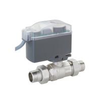 Двухходовой шаровой кран с электроприводом Emmeti Modulo Compact 01425802 3/4 HP латунь