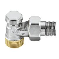 Клапан радиаторный запорный IMI Heimeier Regutec 0365-02.000 угловой ДУ15 3/4 бронза HP