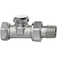Клапан радиаторный запорный IMI Heimeier Regutec F 0332-02.000 прямой ДУ15 1/2