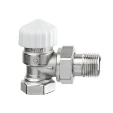 Термостатический клапан для радиатора Heimeier Calypso exact 3451-01.000 3/8 угловой ДУ10