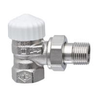 Клапан термостатический с преднастройкой Heimeier V-exact II с преднастройкой 3711-01.000 ДУ10 3/8 угловой