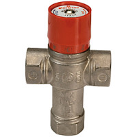 Термостатический смесительный клапан Giacomini R156 R156X004, Ру BP, латунь, Kvs=2