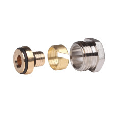 Фитинги для металлопластиковой трубы, D14 x 2 Danfoss 013G4184 3/4