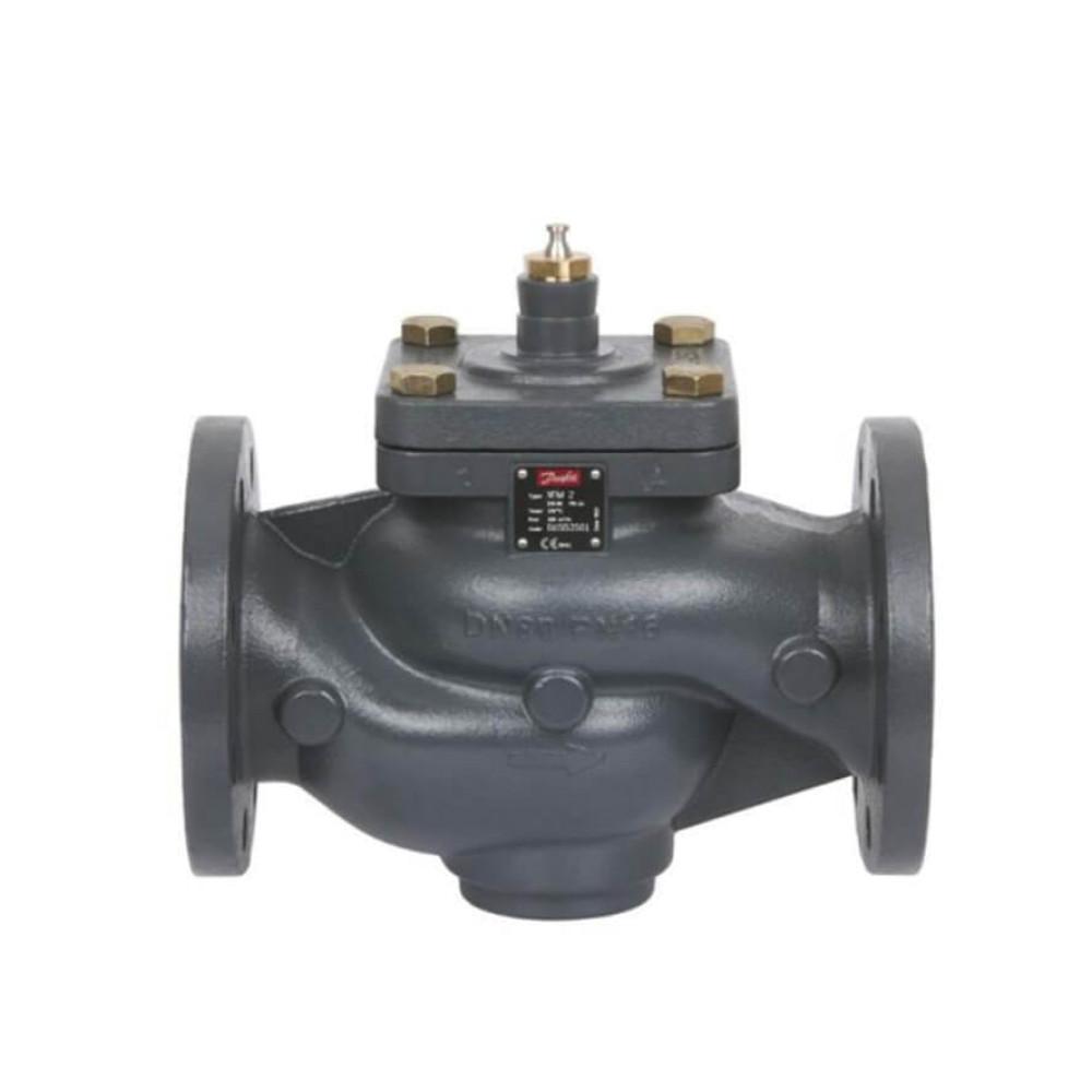Danfoss VFM 2 065B3054 Регулирующий клапан Ру=25   ДУ 15   фланец   Kvs 1.6, двухходовой, ст. арт. 065B2054