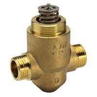 Danfoss VZ 2 065Z5315 Регулирующий клапан, латунь, двухходовой ДУ 15 | G ½ | Ру 16бар | Kvs: 2.5м3/ч