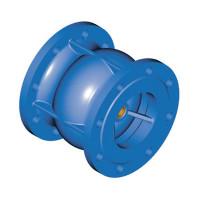Клапан обратный фланцевый Tecofi CA3241-0100 пружинный, осевой ДУ100