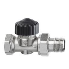 Термостатический клапан для радиатора Heimeier Calypso 3442-02.000 1/2 прямой ДУ15