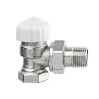 Клапан термостатический с преднастройкой Heimeier Calypso Exact 3451-02.000 ДУ15 1/2 угловой