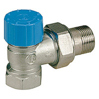 Термостатический клапан угловой Giacomini R401H R401QX004 3/4 М30 х 1,5 4.74