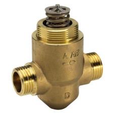 Danfoss VZ 2 065Z5320 Регулирующий клапан, латунь, двухходовой ДУ 20 | G ¾ | Ру 16бар | Kvs: 2.5м3/ч