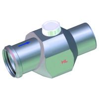 HL4/7 Клапан обратного потока воды DN75, канализационный клапан