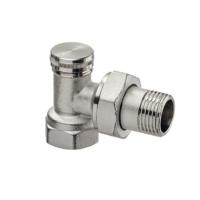 Клапан радиаторный запорный, регулирующий IMI Heimeier Raditec 0381-02.000 угловой ДУ15 1/2 латунь