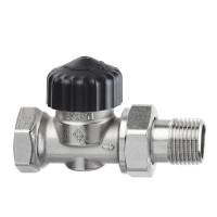 Клапан термостатический с преднастройкой Heimeier Calypso 3442-03.000 ДУ20 3/4 прямой