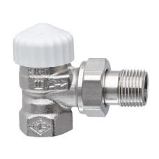 Клапан термостатический с преднастройкой Heimeier V-exact II с преднастройкой 3711-03.000 ДУ20 3/4 угловой