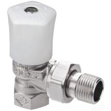 Ручной регулирующий клапан Heimeier Mikrotherm 0121-05.500 ДУ32 1 1/4 угловой