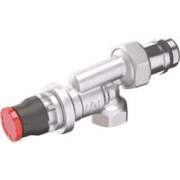 Термостатический автоматический динамический клапан угловой Giacomini R415DB R415DBX033 1/2 Clip-Clap
