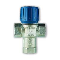 Термостатический смесительный клапан AM63C AQUAMIX Watts 10017420 25-50C для теплого пола 3/4 BP