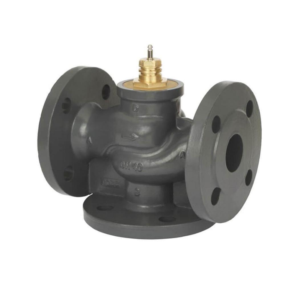 Регулирующий клапан VF3 Danfoss 065Z3355 ДУ15, чугун, фланцевый, Kvs=4, трехходовой