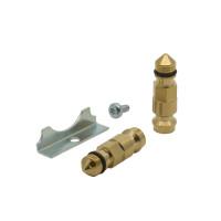 2 измерительных ниппеля и предохранительная пластина для Danfoss CNT 003L8145