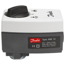 Danfoss электропривод AME 10 082G3005 редукторный, 24В, приводное усилие 300Н
