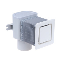 Воздушный клапан HL905 для скрытого монтажа, для канализации