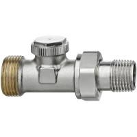 Клапан радиаторный запорный IMI Heimeier Regutec F 0334-02.000 прямой ДУ15 3/4 HP
