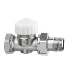 Клапан термостатический с преднастройкой Heimeier Calypso Exact 3452-01.000 ДУ10 3/8 прямой