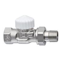 Термостатический клапан для радиатора Heimeier V-exact II 3712-02.000 1/2 прямой ДУ15