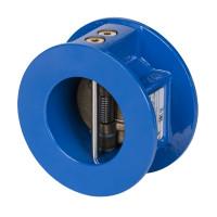 NVD 805 Danfoss Обратный клапан двустворчатый пружинный, межфланцевый, ДУ 350, Kvs=4254, чугунный, 065B7514