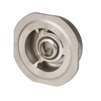 Обратный клапан NVD 812 Danfoss 065B7531 пружинный, межфланцевый, ДУ 20, Kvs=7,8, нерж. сталь