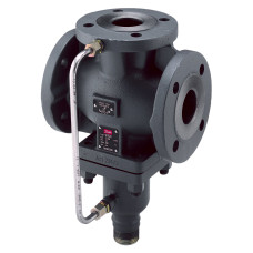 Клапан регулирующий Danfoss VFG 33 065B2598 разгруженный по давлению, ДУ25, Ру 16, Kvs=8, чугун, фланец