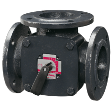 Трехходовой смесительный клапан Esbe 3F 11101600 ДУ150, Ру 10