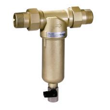 Фильтр Honeywell FF06-1/2AAMBRU сетчатый, промывной 1/2 с ключом и штуцером , для воды, самопромывной