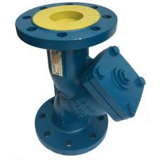Фильтр сетчатый Tecofi 3240N-0125 ДУ 125 грубой очистки, чугунный, фланцевый