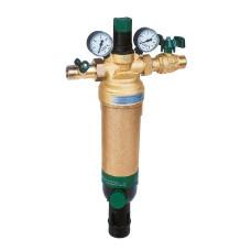 Фильтр Honeywell HS10S-2AAM сетчатый, промывной 2 с клапанами, бронзовая колба