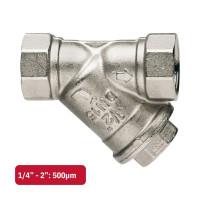 Itap 193 1930112 ДУ 40, резьба 1½, Фильтр грубой очистки, никелированный, латунный