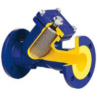 Фильтр стальной фланцевый Zetkama zSTRA V821F 821F015E50 DN 15 макс. давление 40бар y-образный
