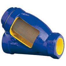 Фильтр с магнитной вставкой сетчатый муфтовый Zetkama zSTRA 823M 823A020C30 DN 20 Ру 16бар 3/4