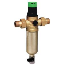 """Фильтр Honeywell FK06-1/2""""AAMBRU с прямой промывкой, с ключом и штуцером , для воды, самопромывной"""