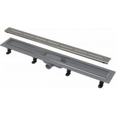 Душевой лоток Alcaplast APZ18-750M комплект с решеткой Simple 8 750мм, корпус пластик