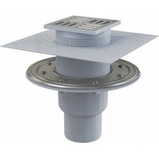 Трап Alcaplast APV2324 вертикальный, комбинированный гидрозатвор, канализационный