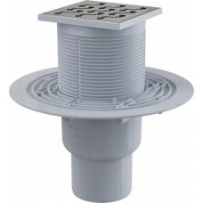 Трап Alcaplast APV202 прямой, высокий, труба 50/75мм, комплект, для ванной и душевых