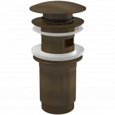 Донный клапан Alcaplast A392ANTIC бронза, клик-клак