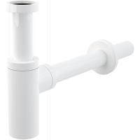 Сифон для раковины бутылочный, Alcaplast A400B, белый